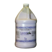 La Palm Lavender Warm Sensation Healing Therapy Massage Lotion with Aloe Vera and Avocado Oil 3.8l