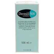 Dermol 500 Moisturising Lotion for Dry Itchy Skin Conditions & for Use As a Soap Substitute 500ml