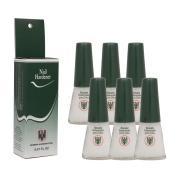 6 Bottles Quimica Alemana Nail Hardener Strengthener Polish Treatment 15ml