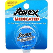 Savex Medicated - For Cold Sores Fever Blisters & Dry Chapped Lip, 5ml,