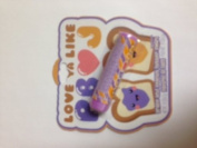 Lotta Luv Peanut Butter and Jam Grape and Peanut Butter Swirl Flavoured Lip Balm 5ml 4.2g