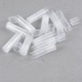 10 Transparent Clear Empty Lip Balm Tubes Containers