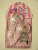 Just 4 Girls Ice Cream Shop 2 Pack Lip Gloss Set ~ Blue Berry Frost & Twisted Berry