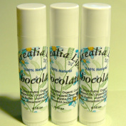 Chocolate Lips x3 - All Natural Lip Balm - Curealia