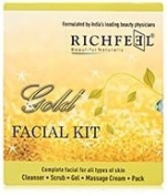 Richfeel Gold Facial Kit For All Skin Types
