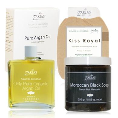 Moroccan Black Soap and Argan Oil Special