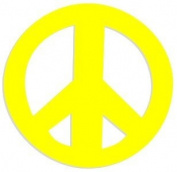 Peace Sign Tanning Bed Stickers 100 Pack