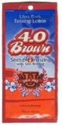 5 packets 4.0 Brown 6x Bronzing Ultra Dark .75z