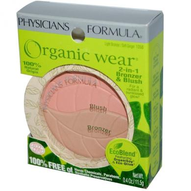 Organic Wear 2-in-1 Bronzer & Blush 10ml (11.5 g)