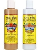 Maui Babe Salon Formula Beach Pack For Indoor Tanning- (2) 240ml Bottles