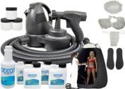 Complete Turbo Tan Premium (Model T75) Professional Sunless HVLP Turbine Spray Tanning