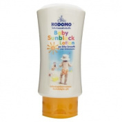 KODOMO Baby Sunblock Lotion SPF 30 Silky Smooth Moisturiser UVA UVB Protection 100ml