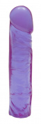 Bundle Classic 20cm Crystal Jellie Purple and Aloe Cadabra Organic Lube Vanilla 70ml
