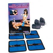 The Sportsheet Bondage Bed Sheet Set - Queen Sheet
