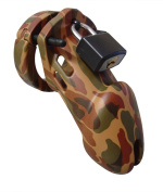 Designer Collection CB-6000 Male Chastity Device, Camouflage