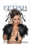 Fetish Fantasy Series Feather Nipple Clamps Tickler
