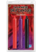 Japanese Drip Candle Set Of 3
