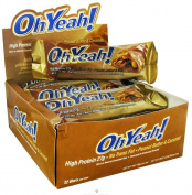 ISS Research - OhYeah High Protein Bar Cookie Caramel Crunch