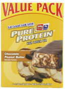 Pure Protein Chocolate Peanut Butter Value Pack bars,