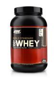 Optimum Nutrition Gold Standard 100% Whey Protein Powder - 908 g, Double Rich Chocolate