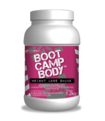 Meal Replacement Protein Powder Shakes For Weight Loss - Strawberry Flavoured Boot Camp Body VLCD drinks