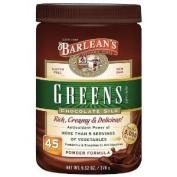 Barlean's Organic Oils Greens, Chocolate Silk, 280ml