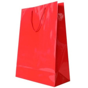 JAM Paper® Gift Bags - X-Large - 32cm x 43cm x 15cm - Red Glossy - Sold Individually