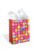 Hawaiian Christmas Gift Bag Medium Peace & Joy
