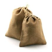 25cm X 36cm Burlap Bag with Drawstring Bag Eco Friendly Natural Colour Jute Pouch
