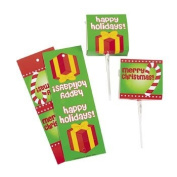 Christmas Sucker Boxes - Party Favour & Goody Bags & Paper Goody Bags & Boxes