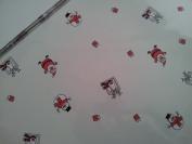 5m x 80cm Roll Christmas Cellophane Wrap (Santa, snowman & reindeer). Florist...
