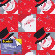 Scotch Gift Wrap, Snowflaked Pals Pattern, 25-Square Feet, 80cm x 10-Feet