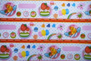 "Gift Wrapping Paper - ""Cute 100%"" Cakes and Fruits"