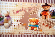 """Gift Wrapping Paper - """"Lovely Day"""" Bears"""