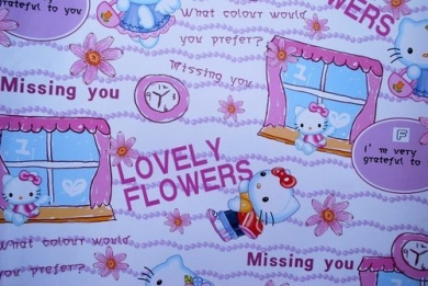 Gift Wrapping Paper - Hello Kitty F