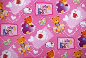 Gift Wrapping Paper - Little Bears with Hearts