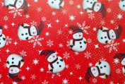 Gift Wrapping Paper - Merry Christmas Snow Man
