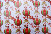 Gift Wrapping Paper - Merry Christmas with Santa