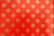 Gift Wrapping Paper - Red Chops and Good Luck