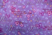 Gift Wrapping Paper - Wedding Wishes