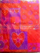 American Greetings Valentines Heart Gift Wrap 8.33 Square Feet 1 Sheet