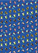 Disney Club Penguin Gift Wrap, 2 Sheets & 2 Tags