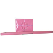 Pink Glossy Valentine's Day Wrapping Paper - 12.5 sq feet - Sold individually