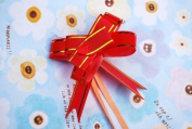 Gift Wrapping Decoration Flowers - Red