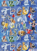 Alphabet Boy Gift Wrapping Paper