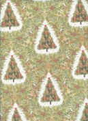 Christmas Trees Rolled Christmas Gift Wrap Paper