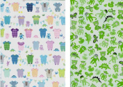 Baby Bunting Reversible Rolled Gift Wrap Paper