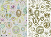 Heirloom Wedding Reversible Rolled Gift Wrap Paper
