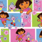 Dora the Explorer Gift Wrap Wrapping Paper