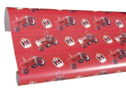 Case IH Gift Wrapping Paper Red